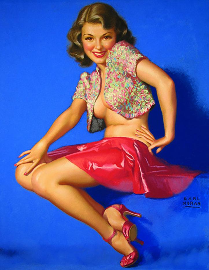 """Эрл Моран (Earl Moran), """"Whenever I Dance With You Alone"""""""