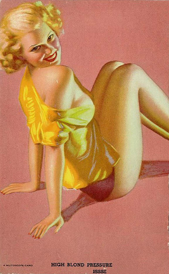 "Эрл Моран (Earl Moran), ""High Blond Pressure"""