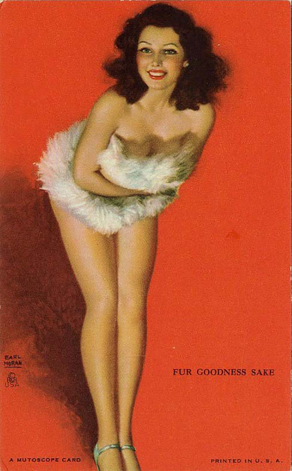 """Эрл Моран (Earl Moran), """"Fur Goodness Sake"""""""
