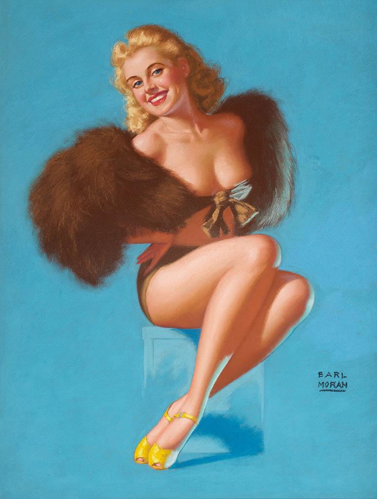 """Эрл Моран (Earl Moran), """"Pretty Foxy"""""""