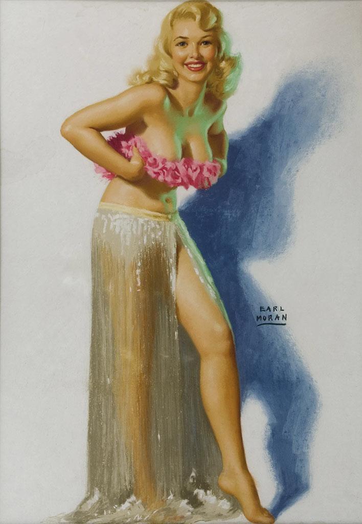 """Эрл Моран (Earl Moran), """"Blonde Dancer"""""""