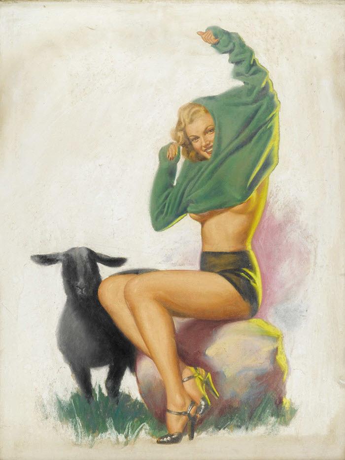 "Эрл Моран (Earl Moran), ""Baa Baa Black Sheep"""