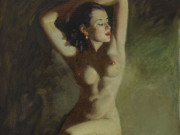 "Эрл Моран (Earl Moran), ""Seated Nude"""