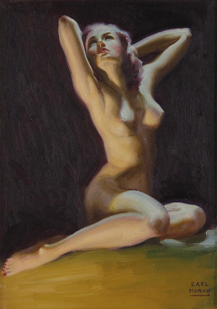 """Эрл Моран (Earl Moran), """"Nude (2)"""""""