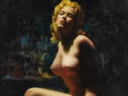 """Эрл Моран (Earl Moran), """"Nude (3"""""""
