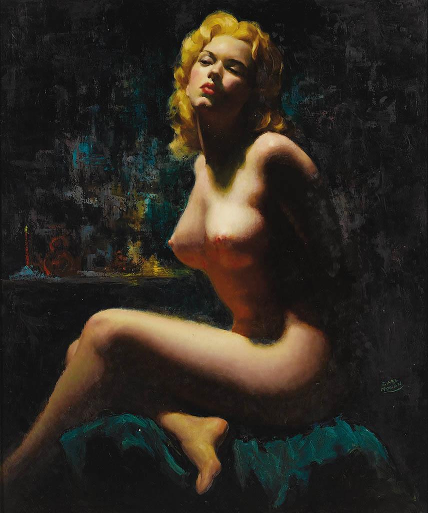 """Эрл Моран (Earl Moran), """"Nude (3)"""""""