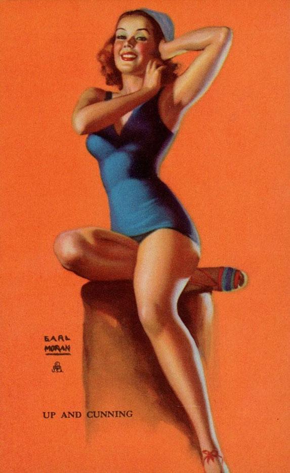"""Эрл Моран (Earl Moran), """"Up And Cunning"""""""