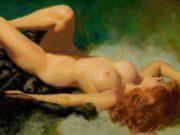 """Эрл Моран (Earl Moran), """"Reclining Nude"""""""