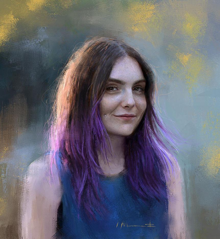 Изабелла Мораветц (Isabella Morawetz), Self Portrait
