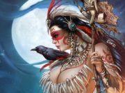 """Ула Мос (Ula Mos) """"Grimm Fairy Tales Dark Shaman #1A"""""""
