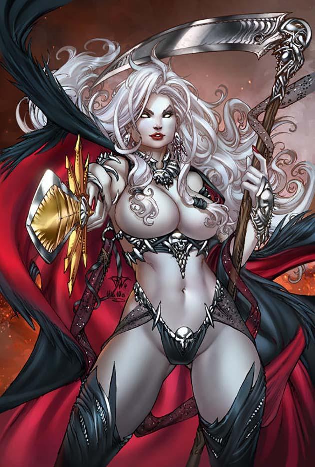 """Ула Мос (Ula Mos) """"Coffin Comics Lady Death Echoes 1"""""""