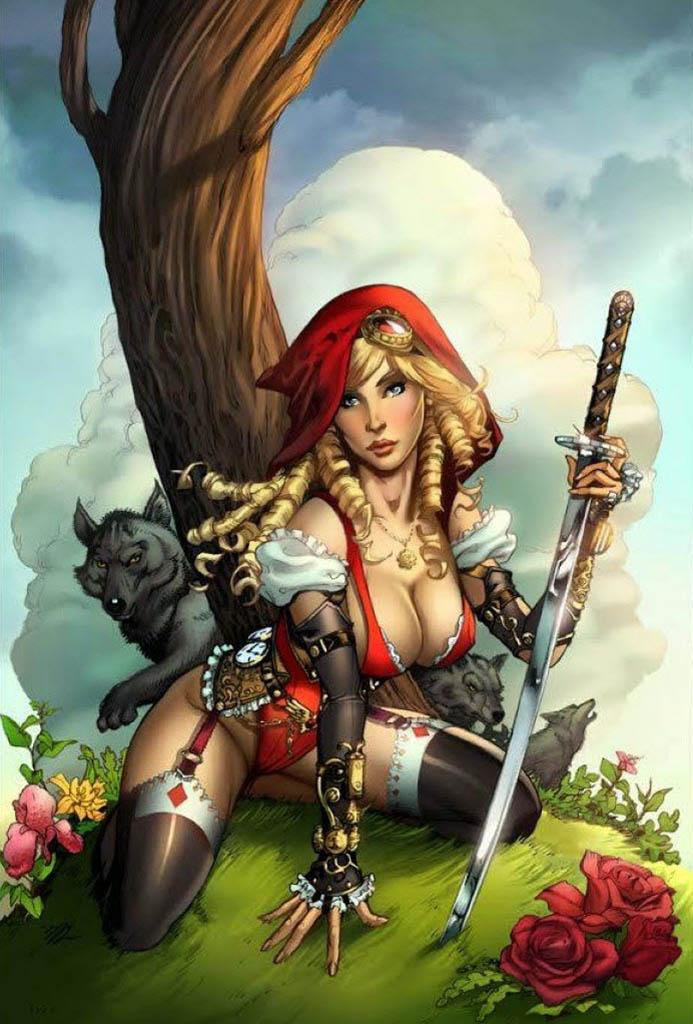"Ула Мос (Ula Mos) ""Little Red Riding Hood"""
