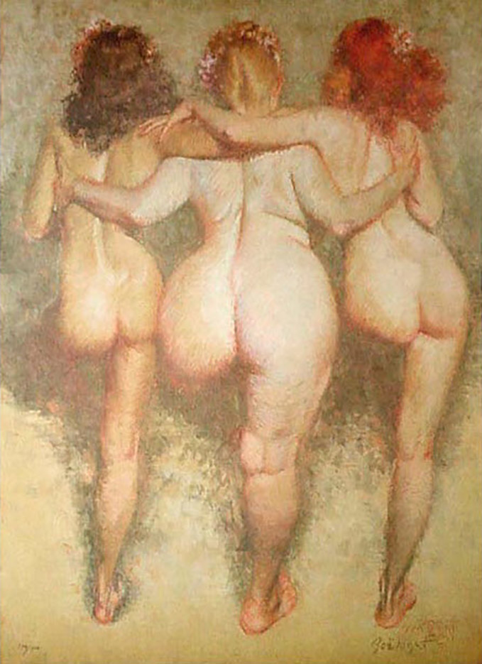 "Зои Мозерт (Zoe Mozert), ""The Three Graces"""