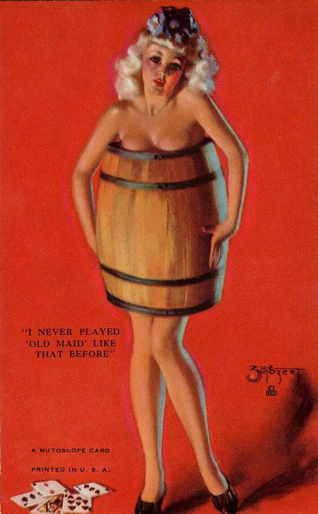 "Зои Мозерт (Zoe Mozert), ""Naked Girl In Barre"""