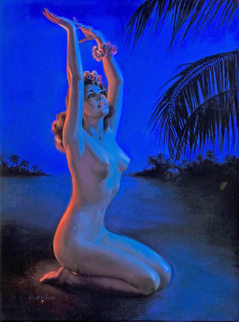 "Зои Мозерт (Zoe Mozert), ""Starry Night in Hawaii"""