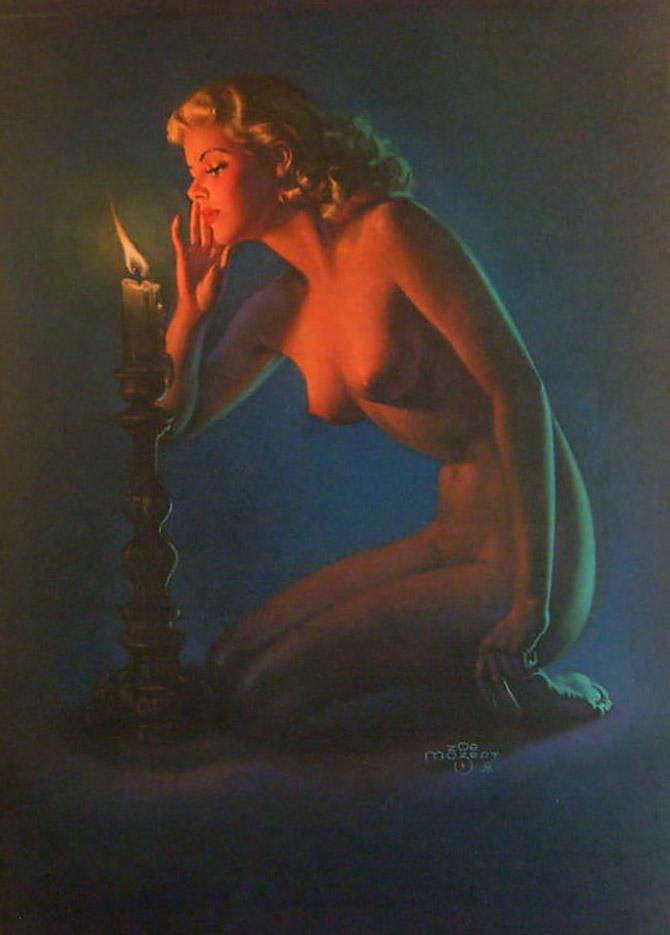 """Зои Мозерт (Zoe Mozert), """"Candle"""""""