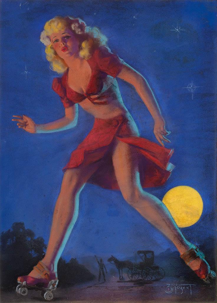 """Зои Мозерт (Zoe Mozert), """"Moonlit Escapade"""""""