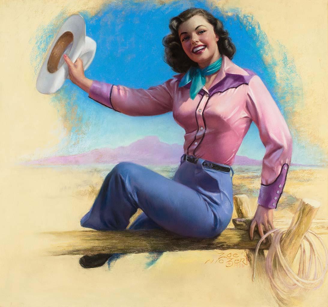 "Зои Мозерт (Zoe Mozert), ""The Cowgirl"""