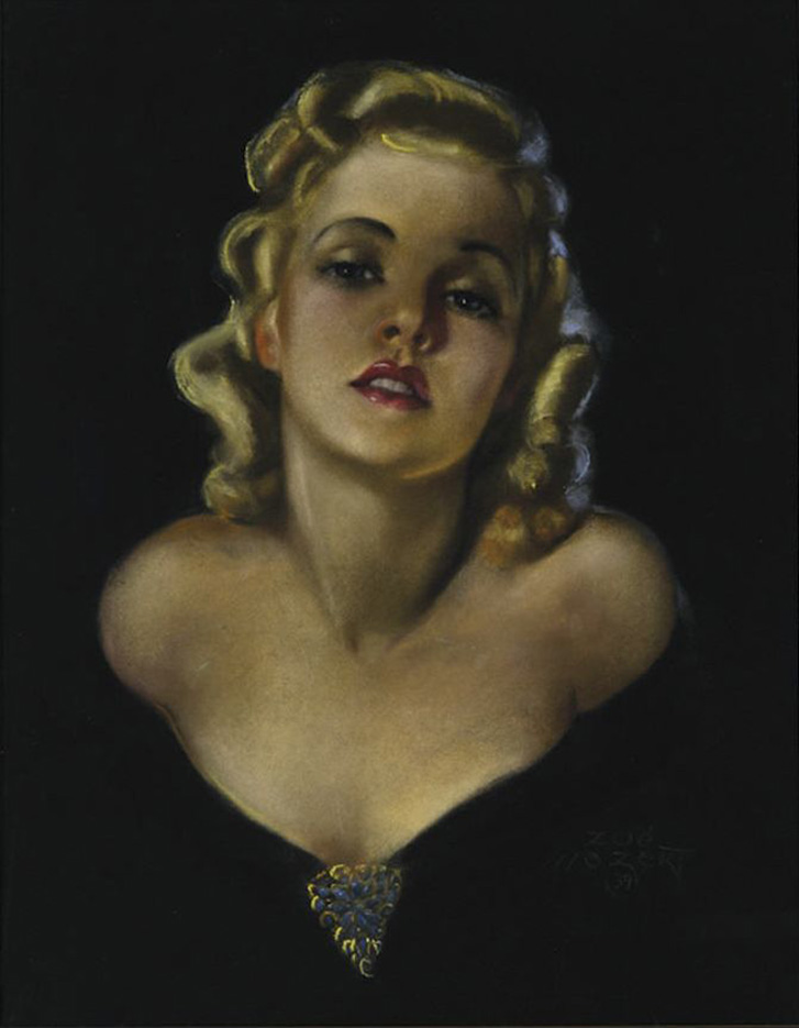 "Зои Мозерт (Zoe Mozert), ""Pin up - 51"""
