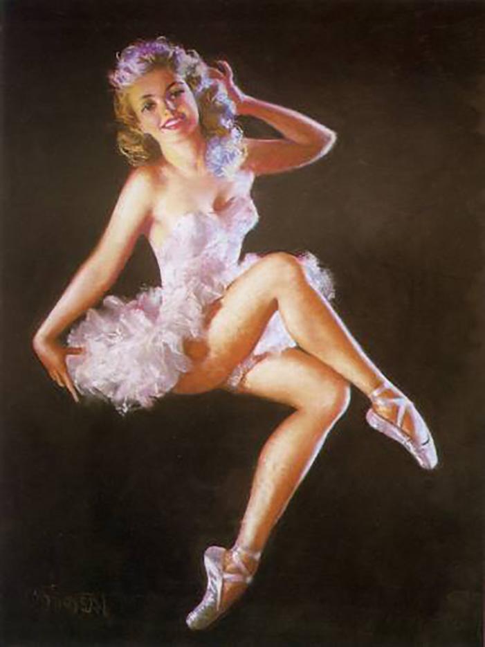 "Зои Мозерт (Zoe Mozert), ""Ballerina"""