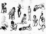 "Ёдзи Муку (Yoji Muku) ""Шибари, Сибари арт – 68 | Shibari art - 68"""