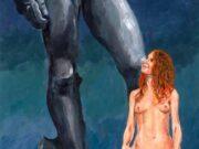 """Пиктор Мюльер (Pictor Mulier) """"Vienna comparing her beauty with Michelangelo's David. Vienna wins"""""""