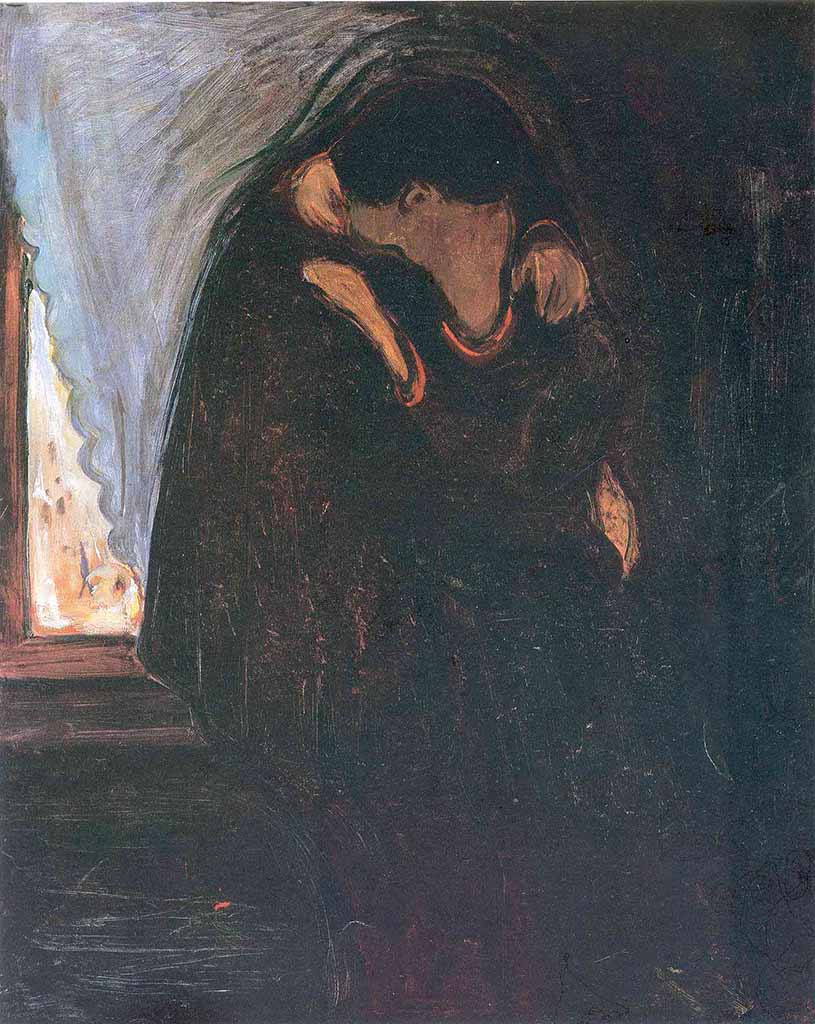 "Эдвард Мунк (Edvard Munch) ""Поцелуй | Kiss"""