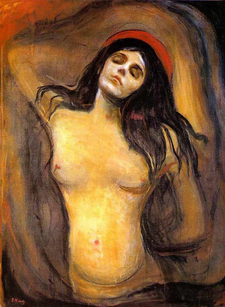 "Эдвард Мунк (Edvard Munch) ""Мадонна | Madonna"""