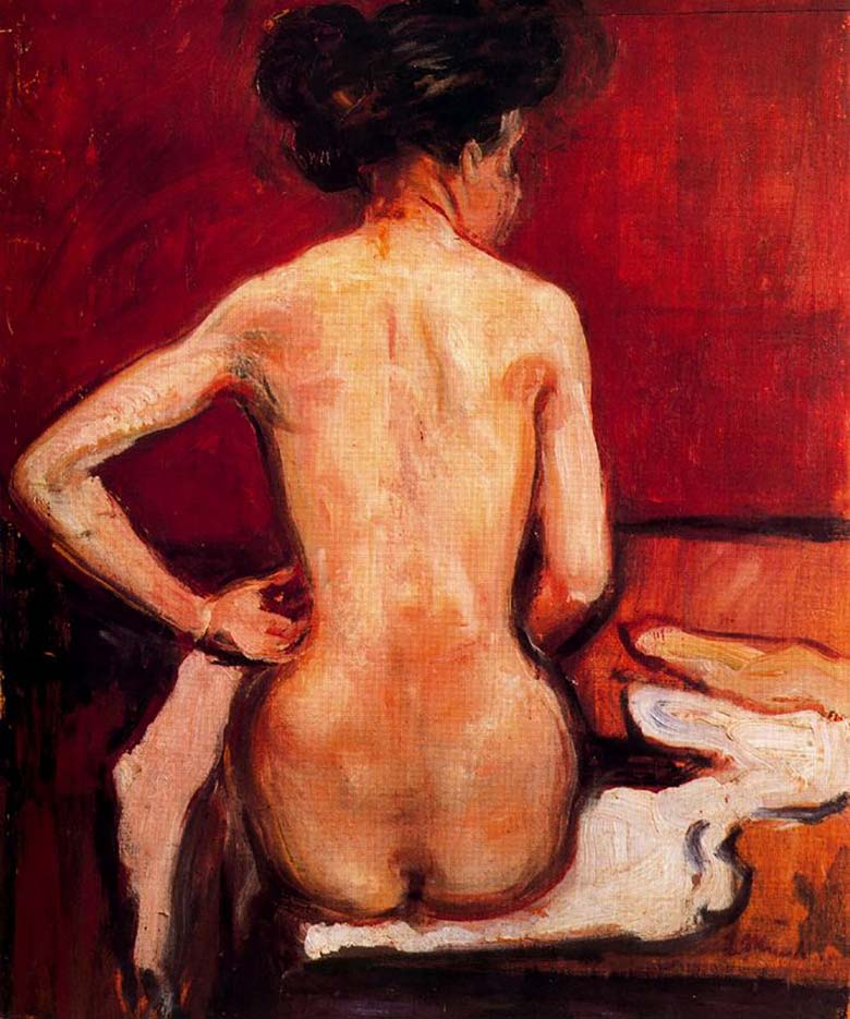 "Эдвард Мунк (Edvard Munch) ""Обнаженная | Nude"""