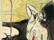 "Эдвард Мунк (Edvard Munch) ""Цветок боли | The Flower"""