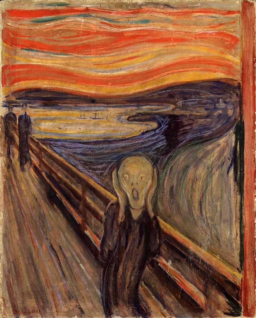 "Эдвард Мунк (Edvard Munch) ""Крик | The Scream"""
