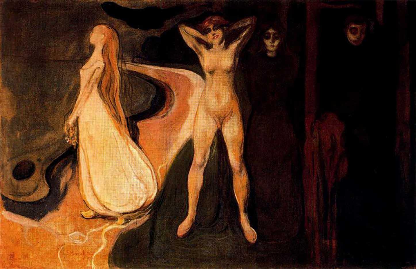 "Эдвард Мунк (Edvard Munch) ""Три стадии женщины (Сфинкс) | The Three Stages of Woman (Sphinx)"""