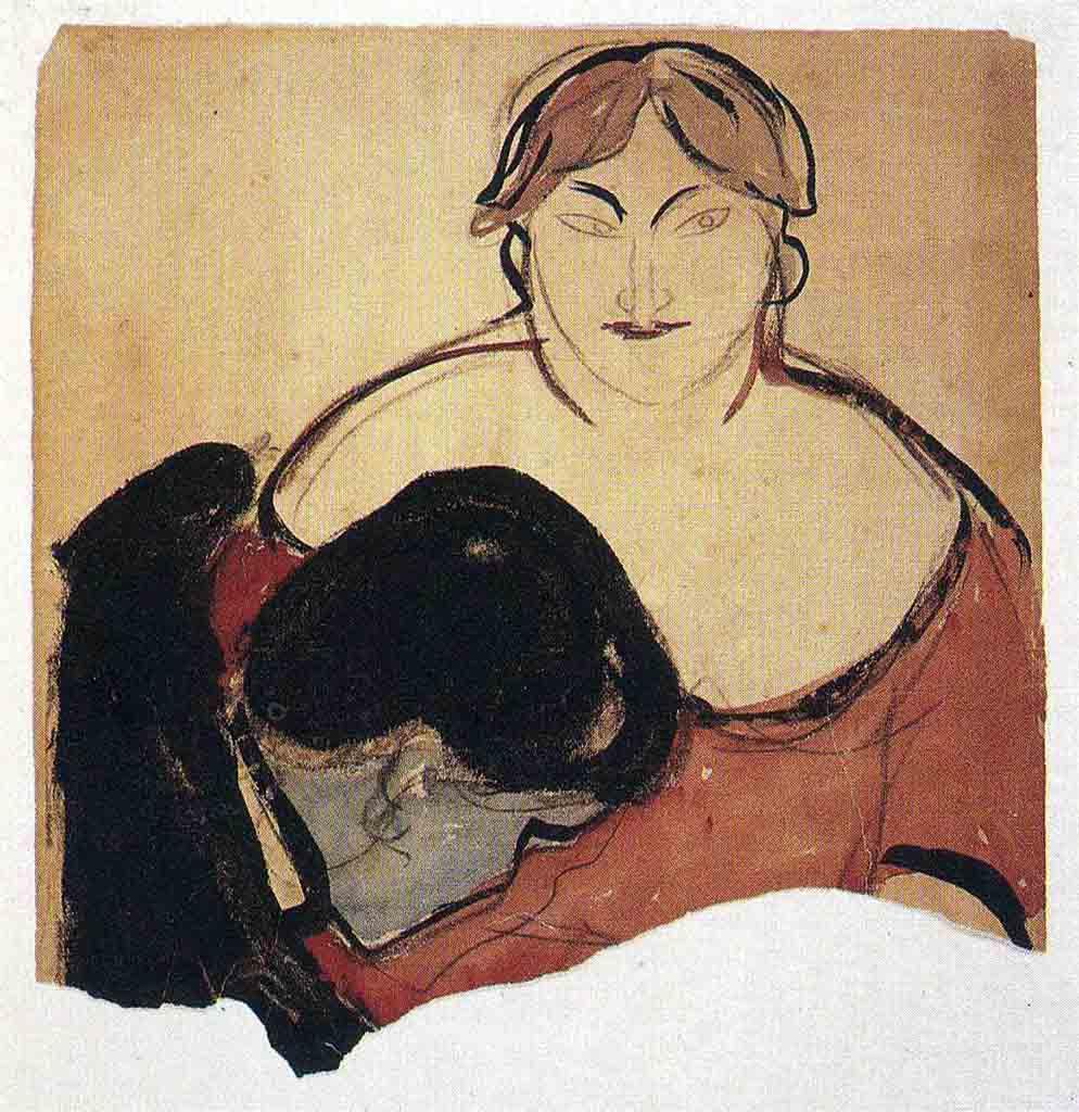 "Эдвард Мунк (Edvard Munch) ""Юноша и проститутка | Young Man and Prostitute"""