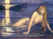 "Эдвард Мунк (Edvard Munch) ""The Lady from the sea"""