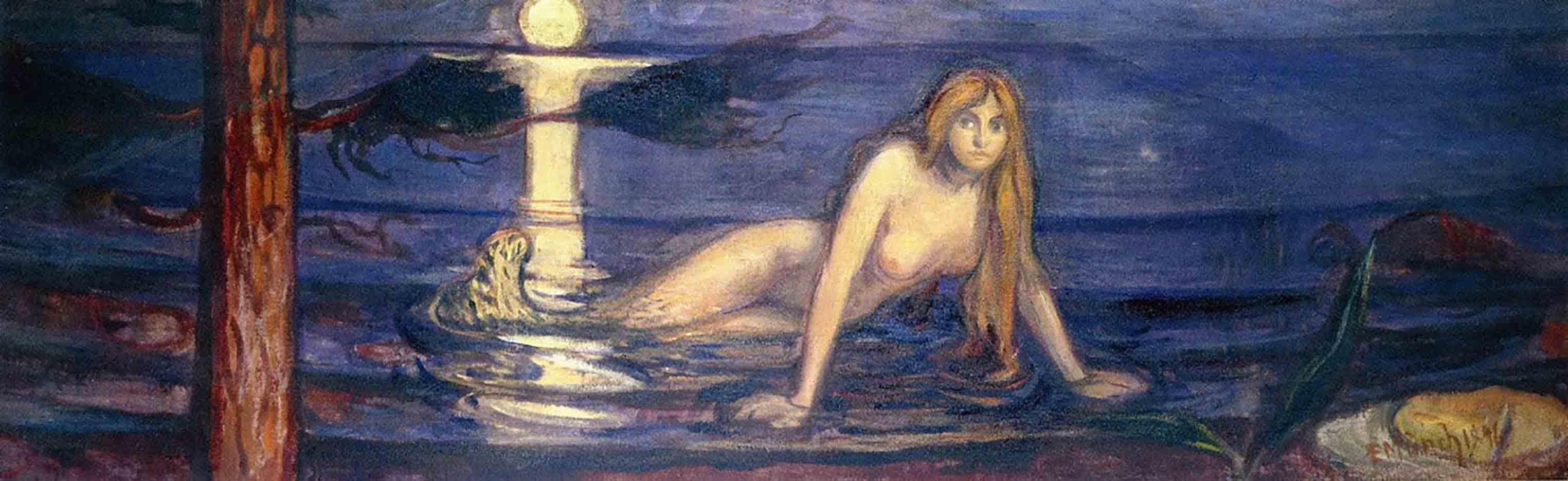 """Эдвард Мунк (Edvard Munch) """"The Lady from the sea"""""""