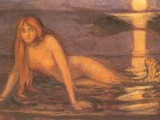 "Эдвард Мунк (Edvard Munch) ""Женщина с моря 