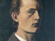 "Эдвард Мунк (Edvard Munch) ""Self-Portrait"""