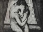 "Эдвард Мунк (Edvard Munch) ""Поцелуй - 2 | Kiss - 2"""