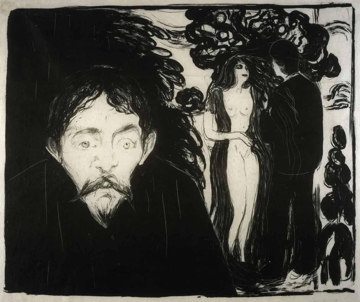"Эдвард Мунк (Edvard Munch) ""Ревность - 2 | Jealousy - 2"""