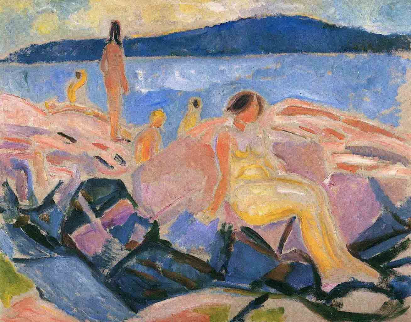 "Эдвард Мунк (Edvard Munch) ""Разгар лета II 