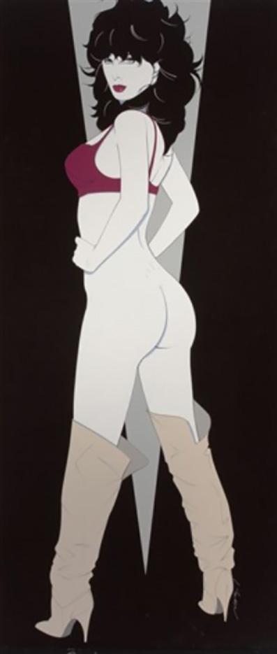 """Патрик Нагель (Patrick Nagel) """"Her Seductive Look"""""""