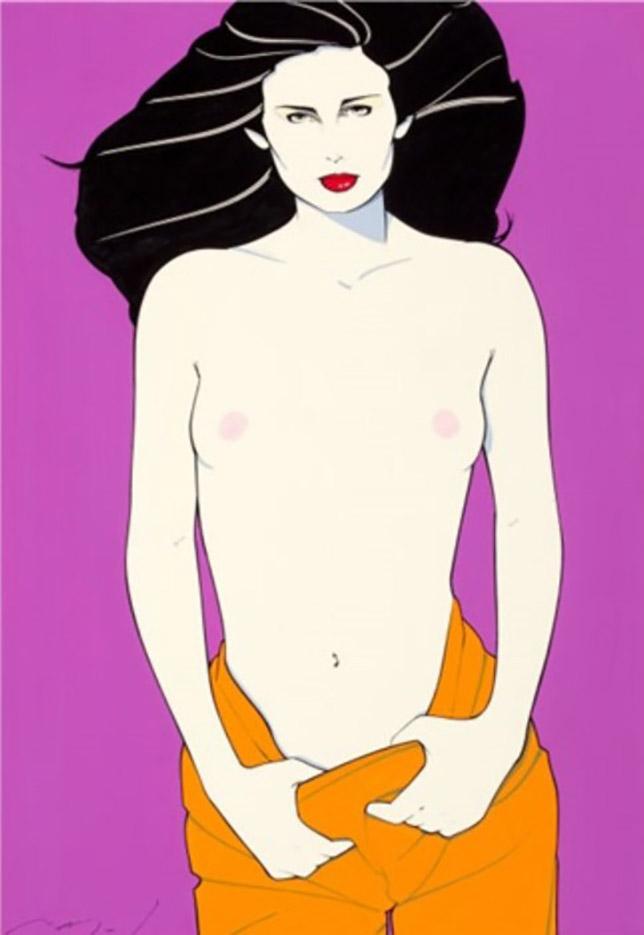 """Патрик Нагель (Patrick Nagel) """"Playboy after hours"""""""