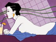 "Патрик Нагель (Patrick Nagel) ""Untitled Pin up - 20"""