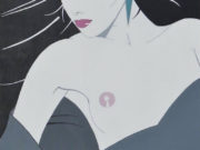 "Патрик Нагель (Patrick Nagel) ""Untitled Pin up - 27"""