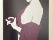 "Патрик Нагель (Patrick Nagel) ""Untitled Pin up - 30"""