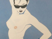 "Патрик Нагель (Patrick Nagel) ""Untitled Pin up - 32"""