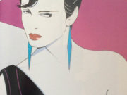 "Патрик Нагель (Patrick Nagel) ""Untitled Pin up - 34"""