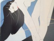 "Патрик Нагель (Patrick Nagel) ""Untitled Pin up - 39"""