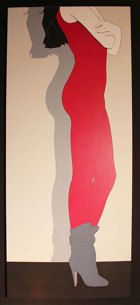 "Патрик Нагель (Patrick Nagel) ""Red Legs"""