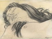 """Рубен Негрон (Reuben Negron) """"Dana I"""" (Drawings)"""